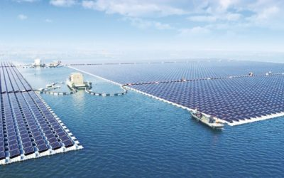 ¡China ha instalado la mayor planta fotovoltaica flotante!